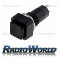 2x Off Momentary Switch Push To Make Square Button Horn Car Dash On