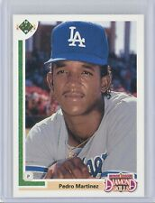 1991 Upper Deck Final Edition #2F PEDRO MARTINEZ Rookie RC (Dodgers) HOF