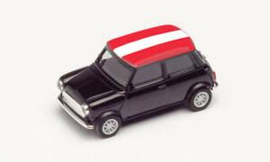Herpa 420686 Mini Cooper Em 2021, Austria, Car Model 1:87 (H0)