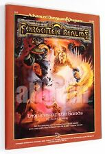 Dungeons & Dragons FORGOTTEN REALMS EMPIRES OF THE SANDS (FR2) 1988 TSR #9224