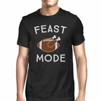 Feast Mode Mens Black Shirt