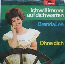 """BRENDA LEE - Ich will immer auf dich warten - 7""""-Single"""