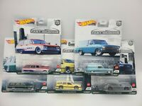 2021 Hot Wheels Fast Wagons Set of 5 Car Culture 1/64 Diecast Cars FREE SHIPPING