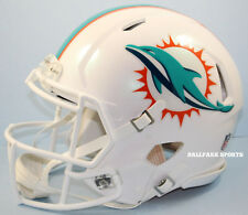 MIAMI DOLPHINS - Riddell Full-Size Speed Authentic Helmet (2018)