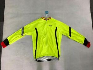 men's Cycling Thermal Fleece Jersey Long Sleeve Bike Cycle Long Shirt Size XL