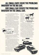 1972 1973 Fiat 128 Original Advertisement Print Art Car Ad PE46