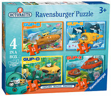 OCTONAUTS 4 IN A BOX 10/12/14/16 PIECE RAVENSBURGER JIGSAW