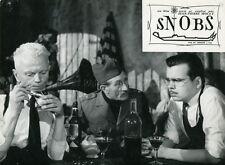MICHAEL LONSDALE NOËL ROQUEVERT SNOBS 1962 VINTAGE PHOTO ORIGINAL #3  MOCKY