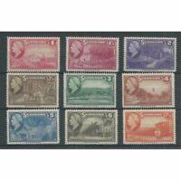 Suriname  220-228 Wilhelmina  MNH/postfris  CV 20 €