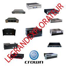 Ultimate  CROWN Audio  Repair  &  Service  manuals  (210 PDF manual s on DVD)