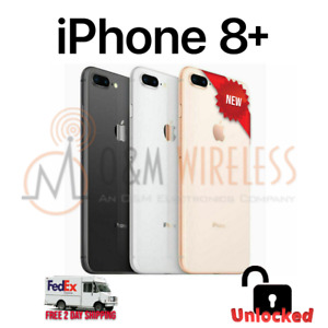 NEW Apple iPhone 8 Plus 64GB 128GB 256GB⚫⚪🟡🔴🔓Unlocked ✅ AT&T✅Verizon ✅TMobile