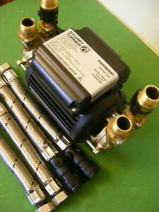 A Stuart Turner  3.0  Bar   Brass Twin Pump.