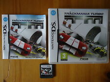 TRACKMANIA TURBO TM Nintendo DS DSi 3DS 2DS LITE XL With Manual PAL **RARE**