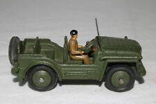Dinky 674, 1950's Austin Champ Military Vehicle, Original