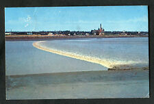 Posted 1965 View of the Tidal Bore, River Petitcodiac, Moncton, Canada