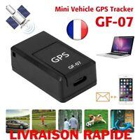Mini GF-07 GPS Trackers Suivi Véhicule Auto Voiture Localisation Vol Alarme SOS