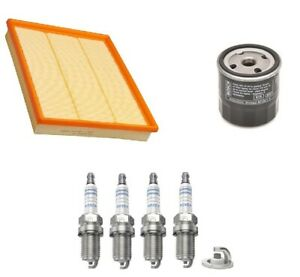 Service Kit Fits Vauxhall Zafira I MPV 1.6 2.0 Bosch Air Oil Filter Spark Plugs