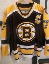 Vtg Nhl Koho Boston Bruins Ray Bourque Jersey Mens Large 77 Sewn Bear Orr Neely