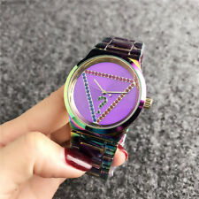 Stainless steel Triangular diamond Fashion Bear Watch Wristwatch