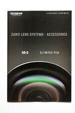 OLYMPUS ZUIKO LENS Brochure   Free shipping  LATEST