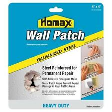 """2 Packages of Wall Patch, Galvanized Steel, Heavy Duty 4"""" x 4"""" Hole Repair"""