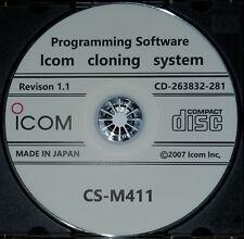 Icom CS-M411 Programming Software for IC-M411 Radio Revison 1.1