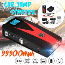 12V Car Jump Starter Battery Power Bank Engine Booster Emergency USB Charger