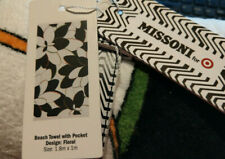 Missoni for Target Australia Floral Beach Towel, new in packet with tags