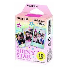 1 Pack 10 Photos Shiny Star FujiFilm Fuji Instax Mini Film Polaroid 7S SP-1 SP-2