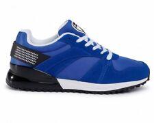 Lamborghini E0XVBSD1 71462 Lace Up Mens Trainers Blue Sneakers