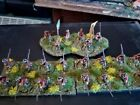 French Indian War - British 22nd Foot Regiment + 3 Trays + Banners
