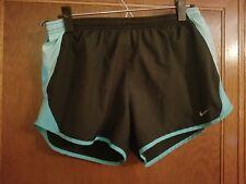 Women's Black/Blue Nike Dri-Fit Athletic/Running Shorts - sz M