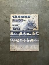 Yanmar Operation Manual