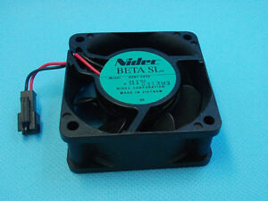 Nidec D06T-24TU 24V 0.1A printer drive Cooling fan 6CM 2-Pin