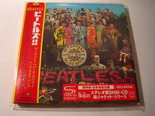 "The BEATLES ""Sgt Peppers..."" Japan mini lp SHM CD 1st Press"