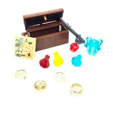 Lego Treasure Chest Monedas Gemas Pirata De Saqueo de ciudad castillo Star Wars Shop