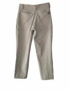 Footjoy Five pocket wicking pant men's Tag 30X32 Actual 30X29 Golf Wear