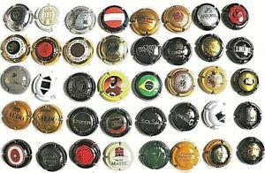 Collezione 40 capsule cappellotti spumante vini Kapseln sekt – kronkorken – caps