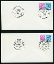 Belgium Scott #968//1087 COVERS Ghent Flower Festival FLORA $$