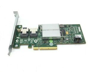 Dell H200 Perc PCIExpress SAS RAID Controller Card 47MCV High Profile