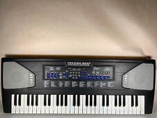 Techno Beat 54 Key Electronic Keyboard w/100 Instruments Rhythms Melodies No Mic