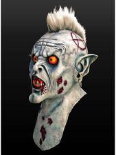 Zombiepunk Maske Latex Halloween Horror Zombie Punk Tod