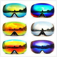 CRG Adults Snowboard Snow Ski Goggles Anti Fog UV Double Lenses Skiing Glasses