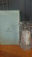 "PARTYLITE SIGNATURE CRYSTAL HURRICANE CANDLE HOLDER RETIRED 121/2""Tall with base"