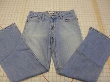 American Eagle Outfitters Denim Blue Jeans Petite 6 zipper fly Boot Leg LADIES