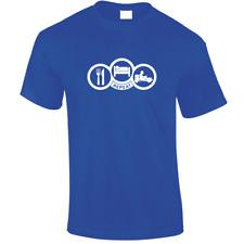 Eat, Sleep, Go Cart Unisex T-Shirt