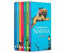 Brand NEW The Chronicles of Narnia Box Set 7 Book Collection by C.S. Lewis
