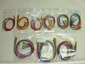 1 Paire M / F JST-XH 2.54mm 2 3 4 5 6 7 8 9 10 Pins avec Cable de 30cm