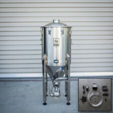14 Gallon Conical Fermenter Ss Brew Tech Chronical BrewMaster w Chilling Package
