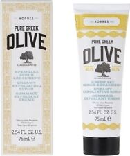 KORRES Pure Greek Olive Creamy Exfoliating Scrub for All Skin Types 75ml